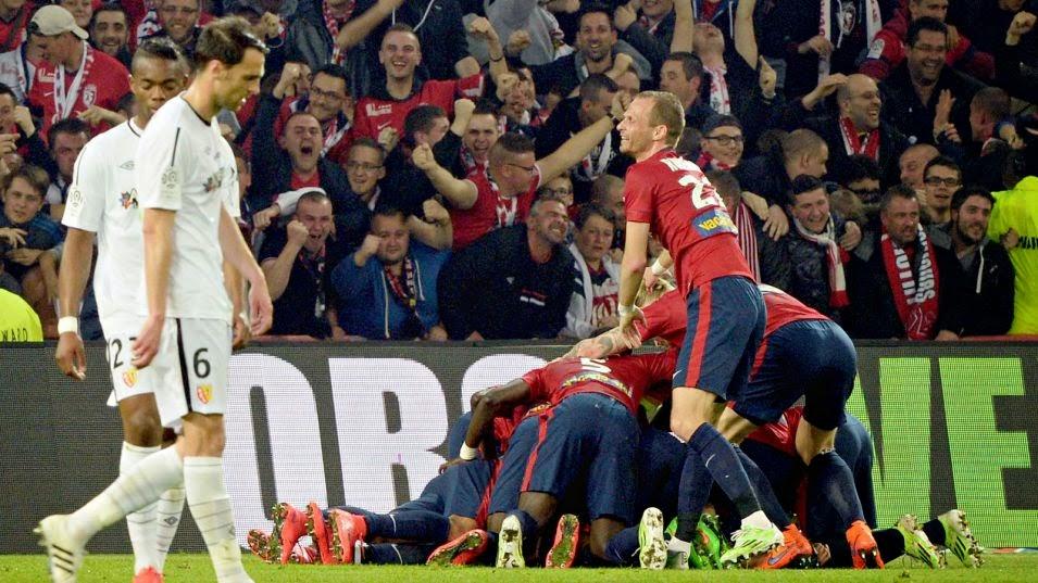 Highlights Lille 3 – 1 Lens (Ligue 1)