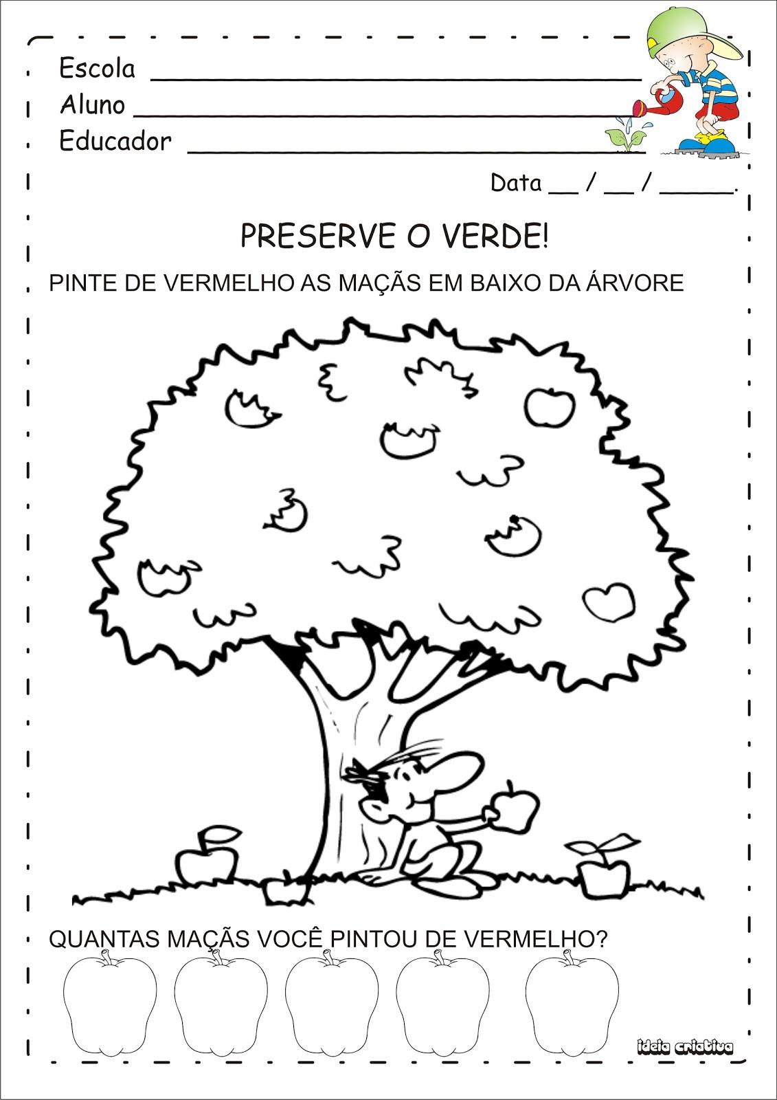 Muitas vezes Atividades Meio Ambiente | Ideia Criativa - Gi Barbosa Educação  PN13