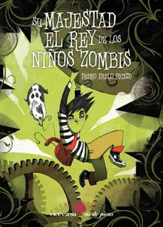 Portada de Su majestad el rey de los niños zombis, de Pedro Pablo Picazo