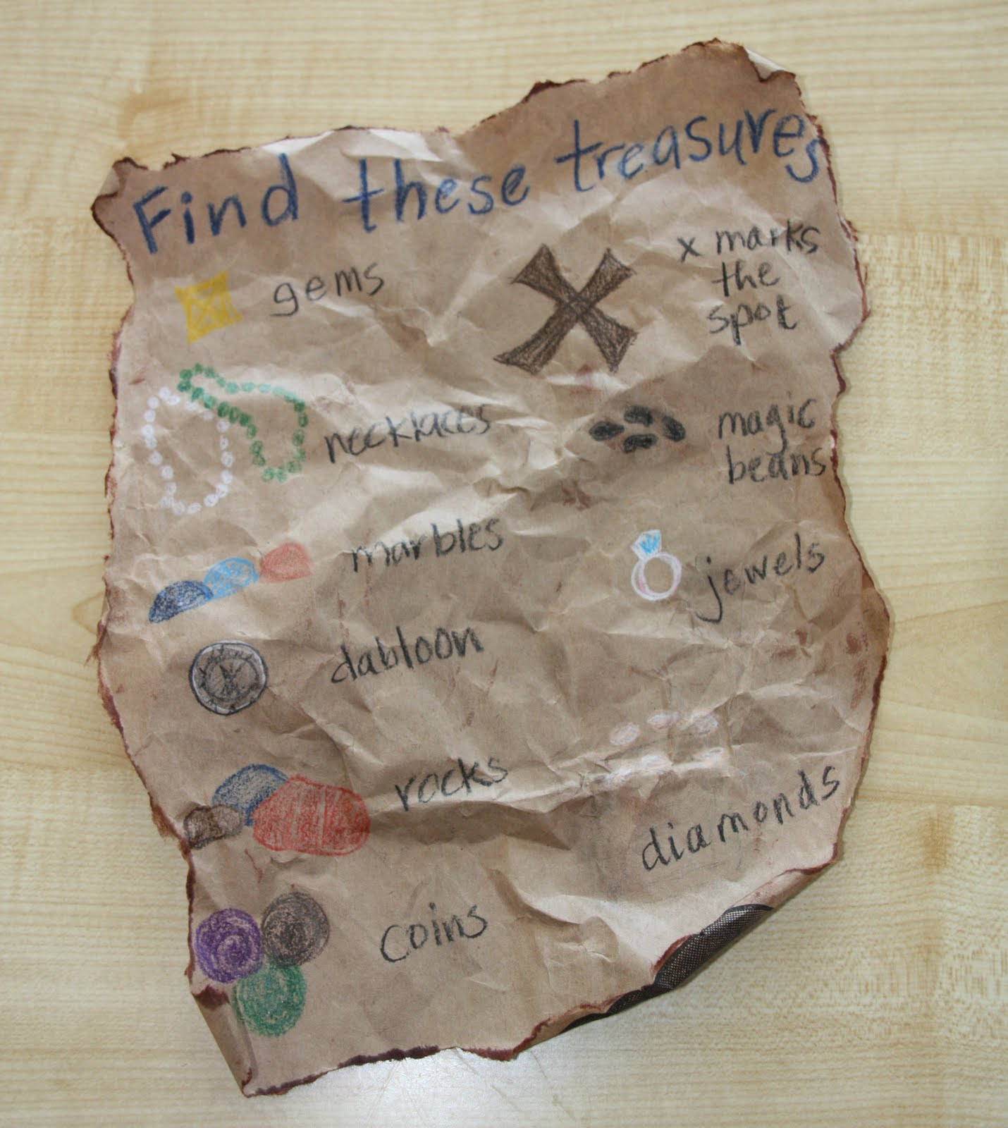 treasure map paper Treasure map according to legend, there are hundreds of lost treasures off the coast of many international lands from canada to south america this map, on sturdy antiqued parchment, reveals 67 separate sunken and buried treasures known from history, research and pirate lore.