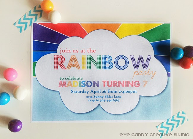 rainbow party, birthday party, collection debut, rainbow and cloud, birthday party idea