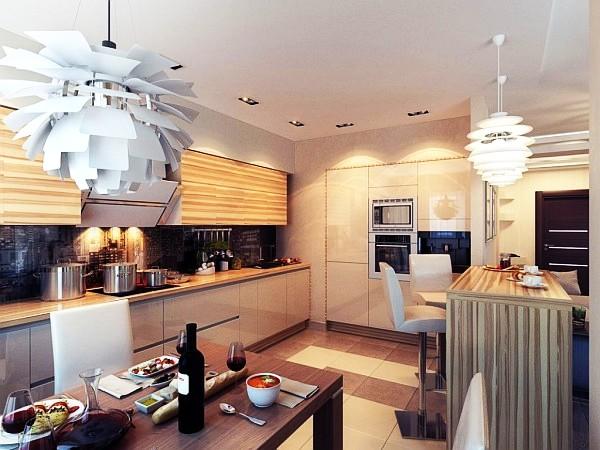 15 ideas de iluminaci n para la cocina perfecta for Ideas iluminacion cocinas