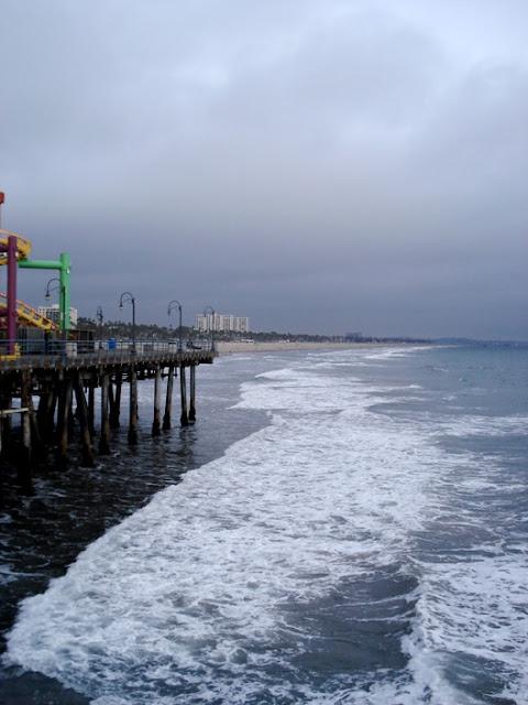 Santa Monica shore