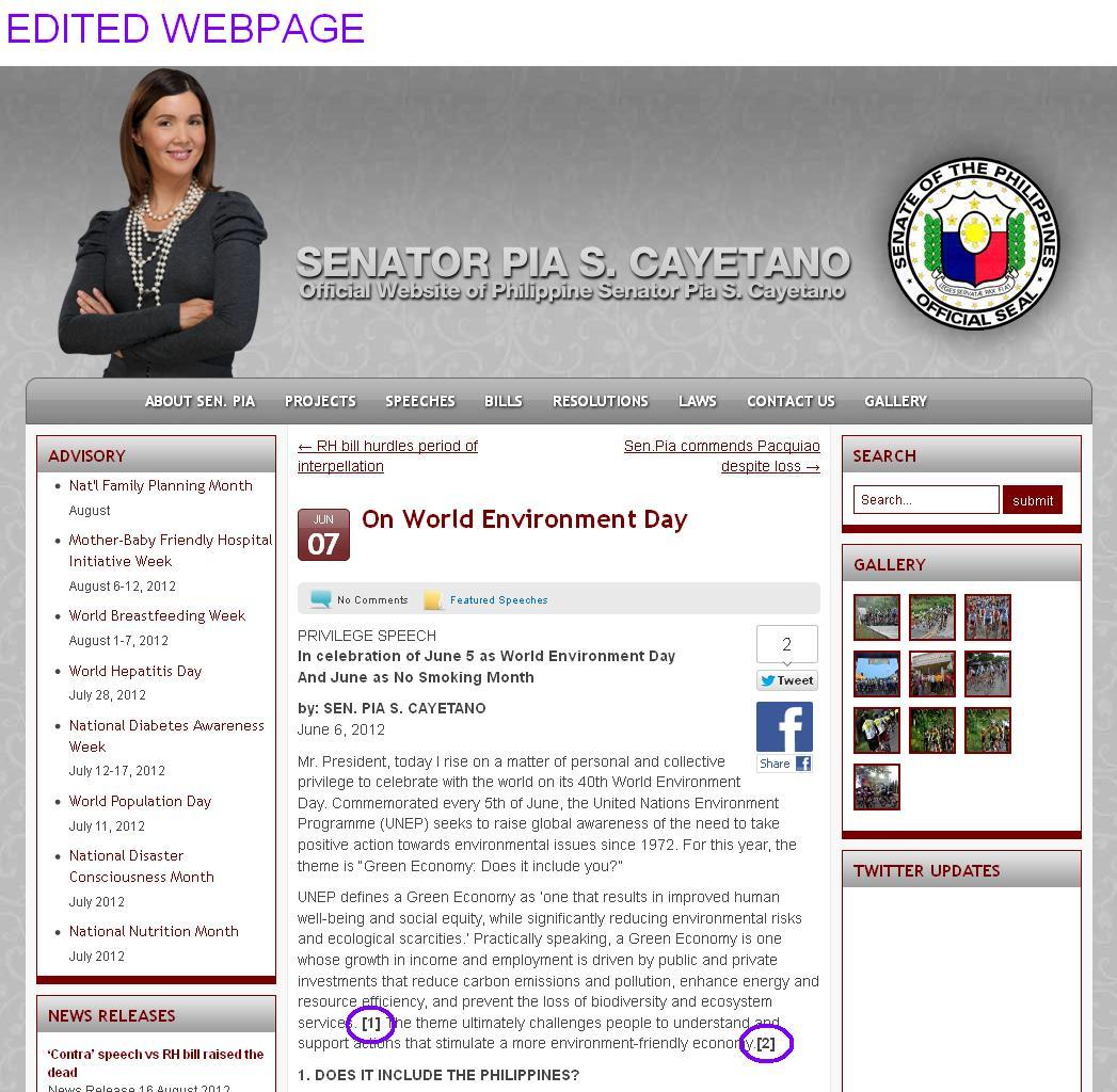 Rephrasing website