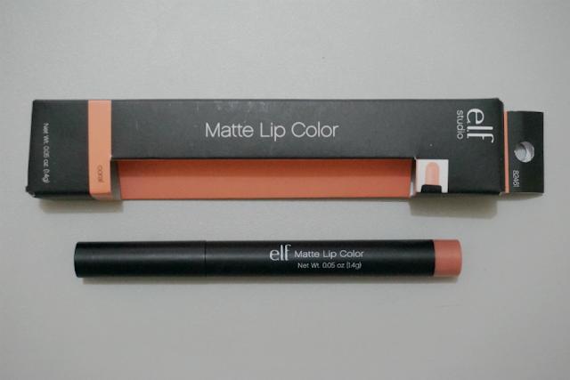 e.l.f. Studio Matte Lip Color in Coral
