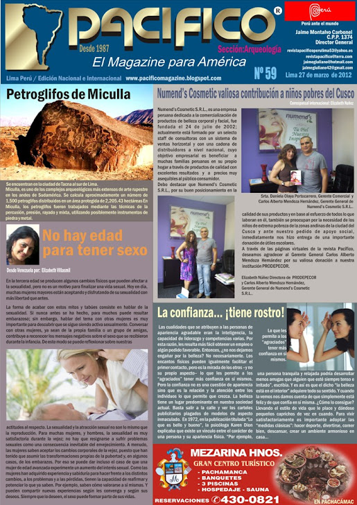 Revista Pacífico Nº59 Arqueología