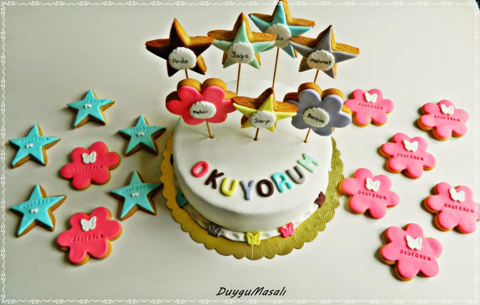 edirne okuma bayramı pastası