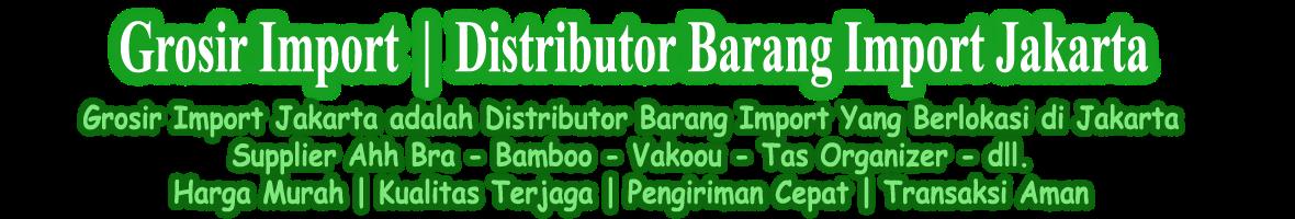 Grosir Import | Distributor Barang Import Jakarta