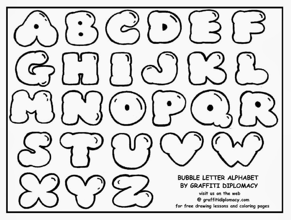 Alphabet Bubble Letter – 48+ Free JPG, ESI, PSD Format Download