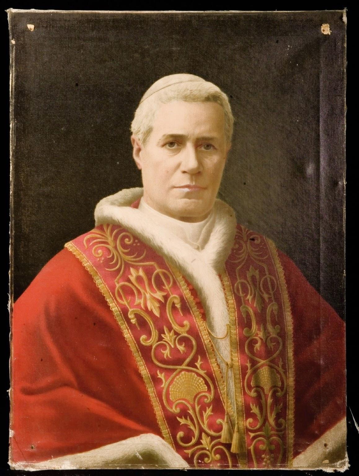 Su Santidad el Papa San Pío X