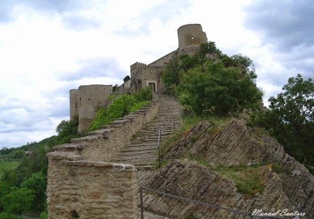 Roccascalegna, castello