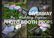 Giveaway : Saya suka Photobooth Props