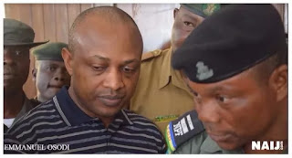 Evans' pleads not guilty at continuation of trial