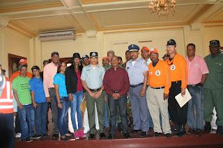 """Presidente del COE afirma màs de dos mil  voluntarios participarán en el Operativo """"Semana Santa 2013""""  en San Cristóbal"""