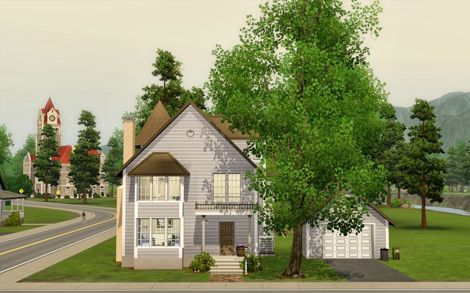 Summer 39 s little sims 3 garden moonlight falls the sims 3 for 25x30 house plans