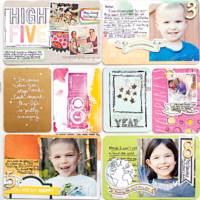 Heather Greenwood Design | Week 37 2014 using Studio Calico Project Life® kit | #projectlife #SilhouetteAmerica