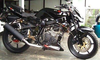 inini motor scorpio z gue yg gue modifikasi sendiri title=