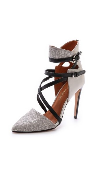High Heel Point Toe Pumps
