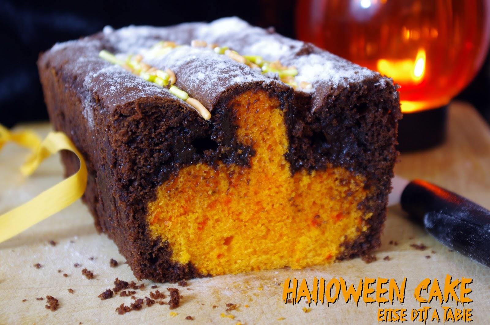 Recette halloween cake blog cuisine - Recette dessert halloween ...