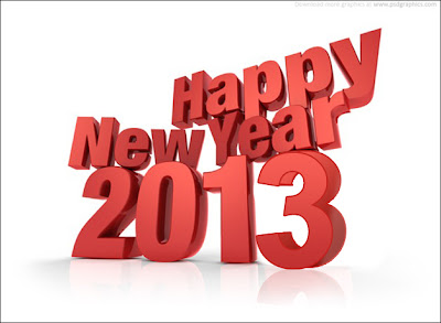 Happy New Year 2013 Goals