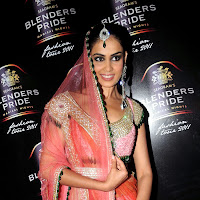 Cute genelia at blenders pride fashion tour 2011