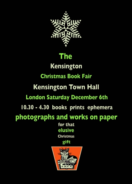 http://www.pbfa.org/book-fairs/kensington-christmas-book-fair-/4036