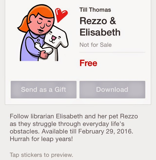 Rezzo & Elisabeth sticker