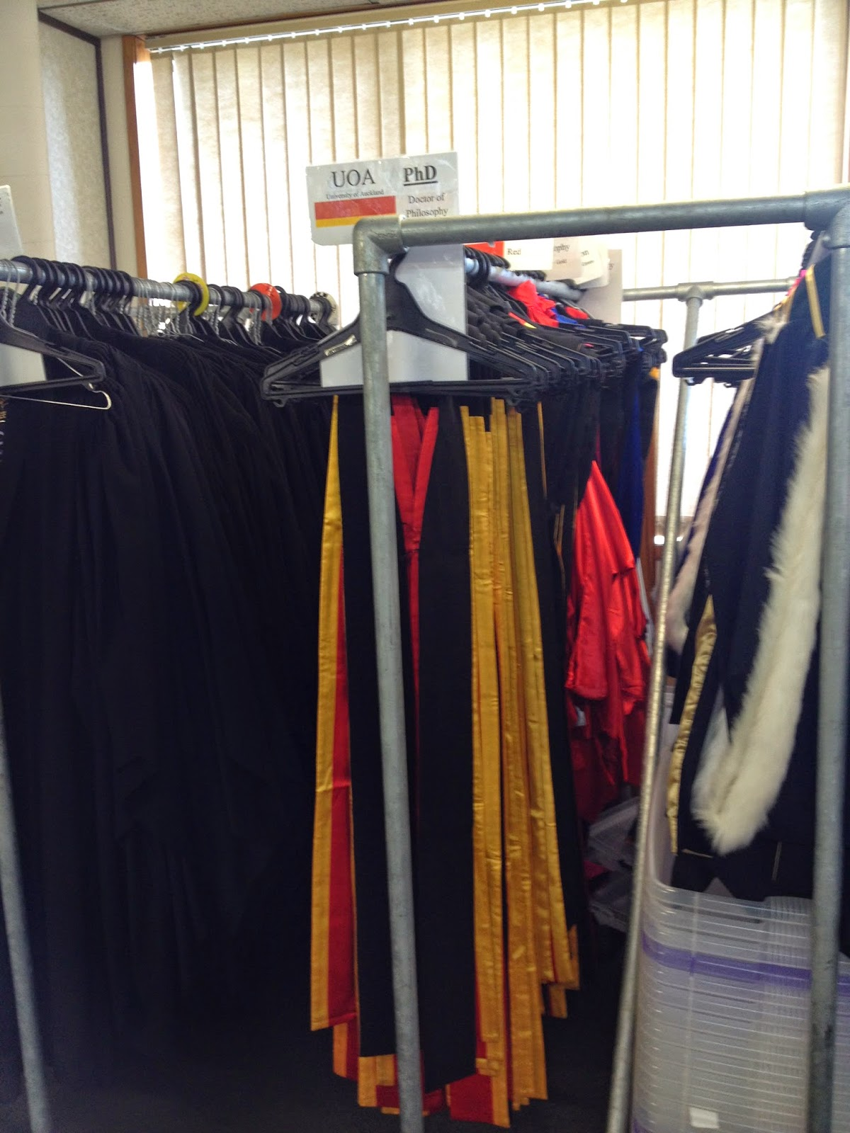 Here are PhD gowns and hoods. I have no interest in taking a PhD. A ...