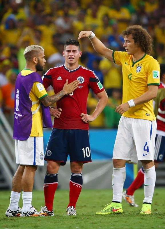 Menang 2-1 dari Kolombia, Brasil Lolos ke Semifinal