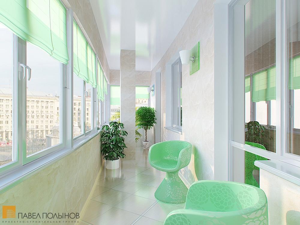 Ул. большая зеленина - дизайн интерьера квартиры 90 кв.м.
