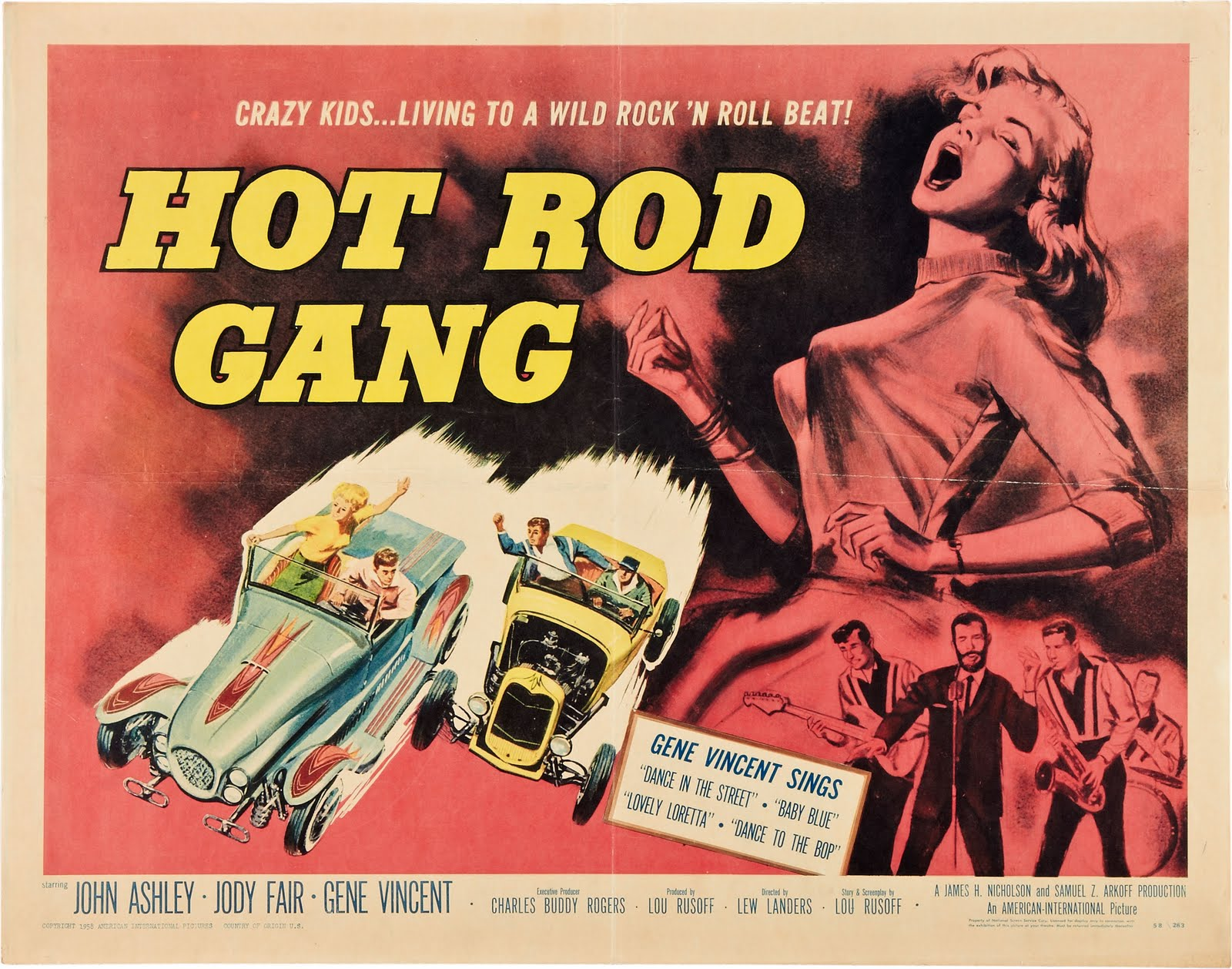nostalgia on wheels hot rod gang movie 1958 on