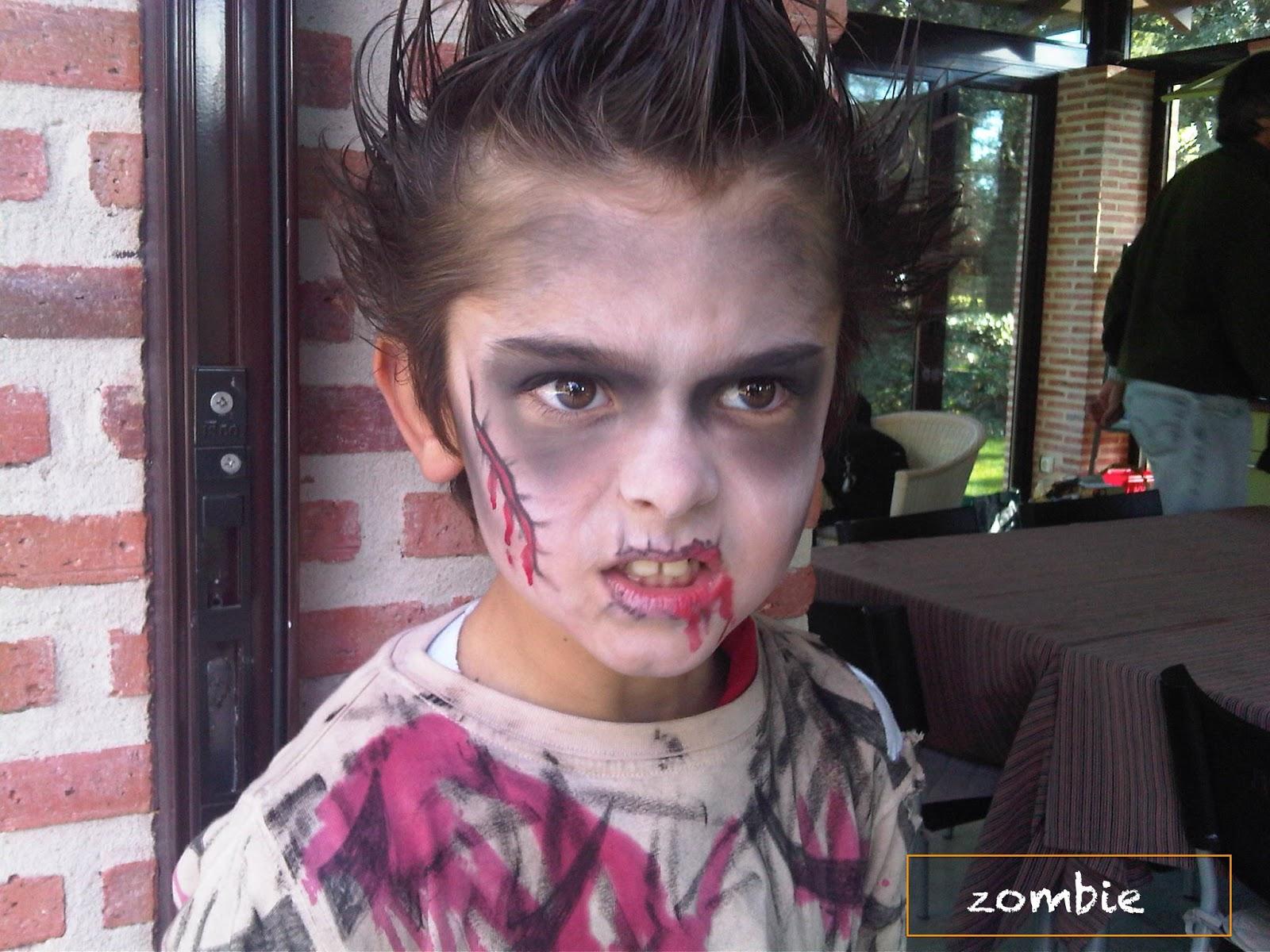 maquillaje halloween para nios