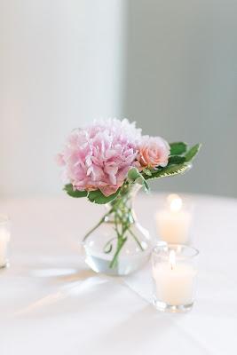 les fleurs : bud vase : votives