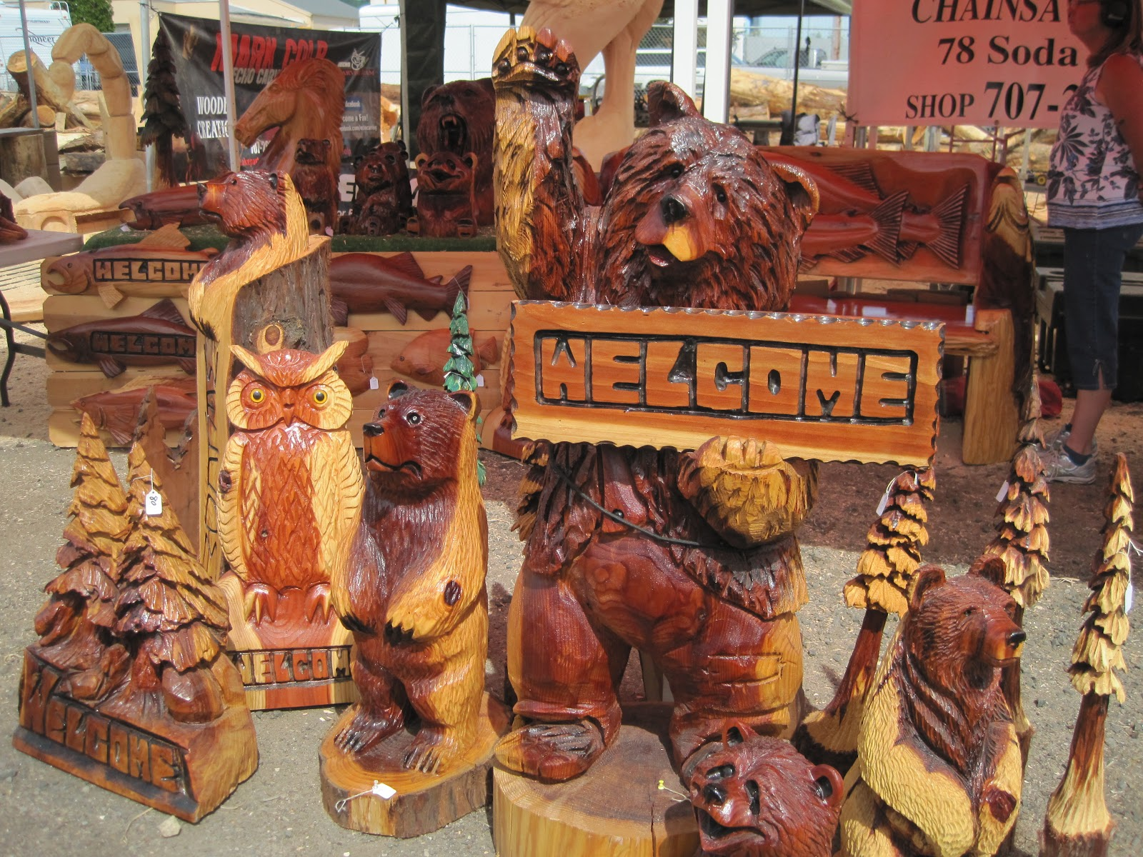 The daymaker chainsaw art in northwest