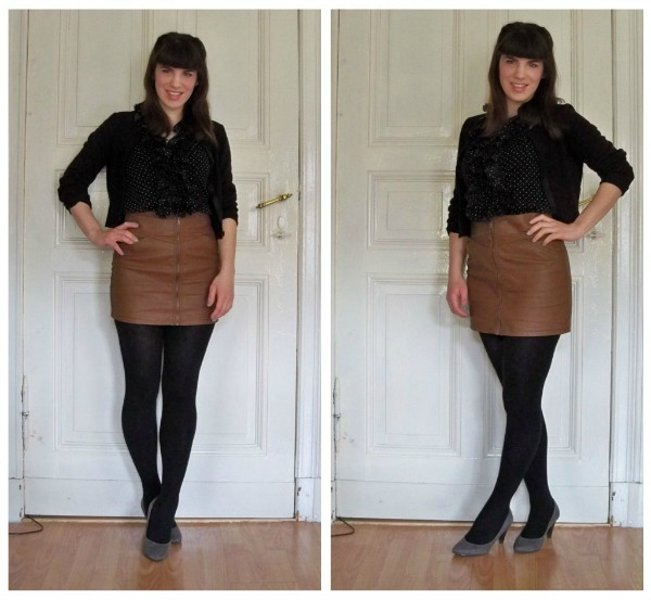 30 Kleidungsstücke für 30 Tage ergeben 30 verschiedene Outfits Tag 15