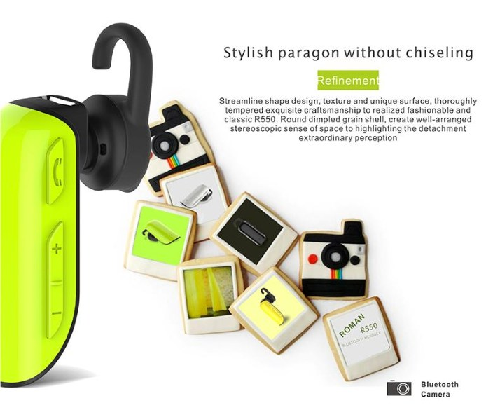 Bluetooth 4.1 Hands Free Roman R550 για iOS/Android
