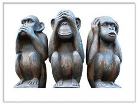 Üç Maymun Ne Anlatır