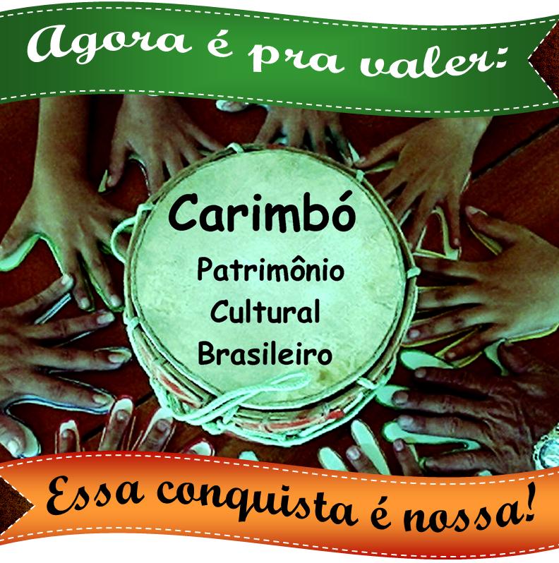 Pela valorização efetiva do Carimbó e seus mestres, grupos e comunidades!
