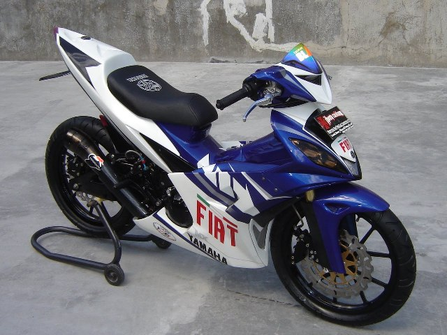 Modifikasi Jupiter Mx Old