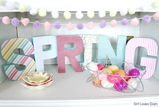 #diy #tutorial #spring #easter #decor