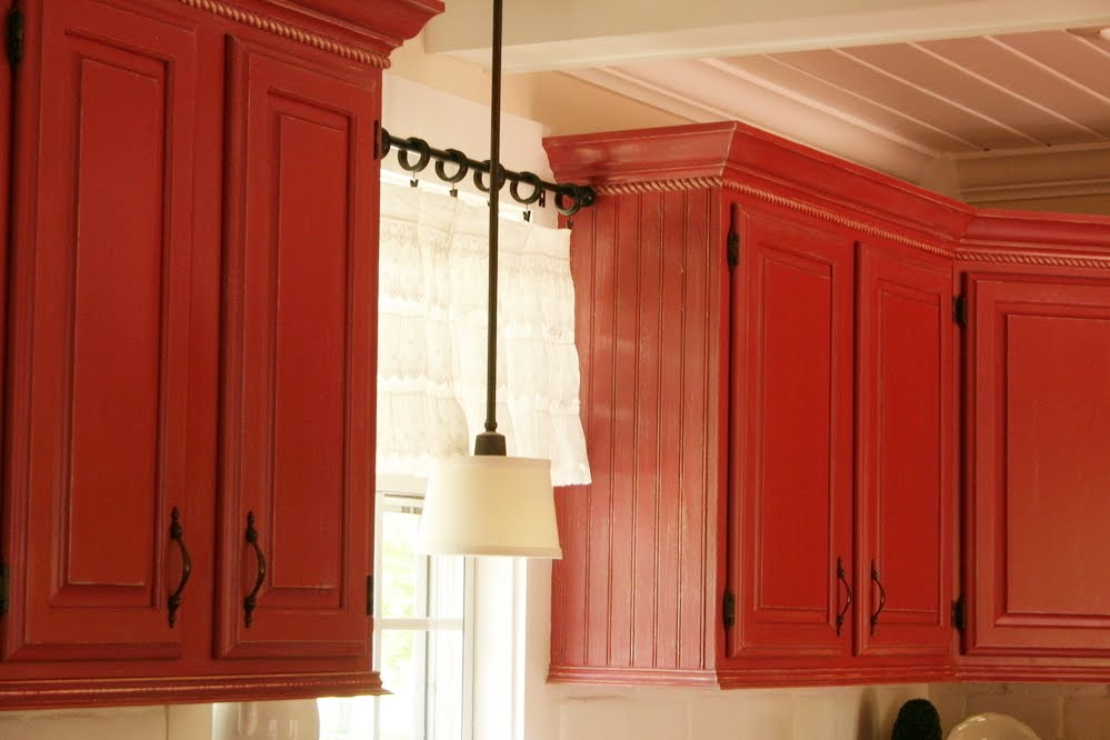 Honing in on home improvement on paint jobs kitchen for Kitchen cabinet doors