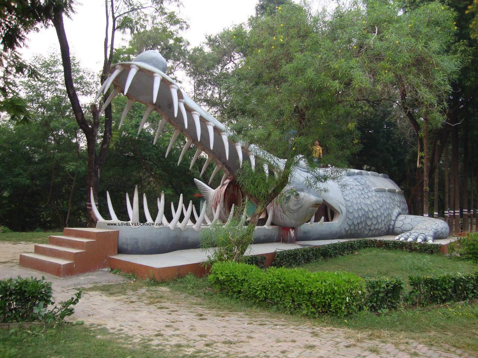 Image result for Kukrail Picnic Spot Lucknow