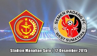 PS TNI vs Semen Padang