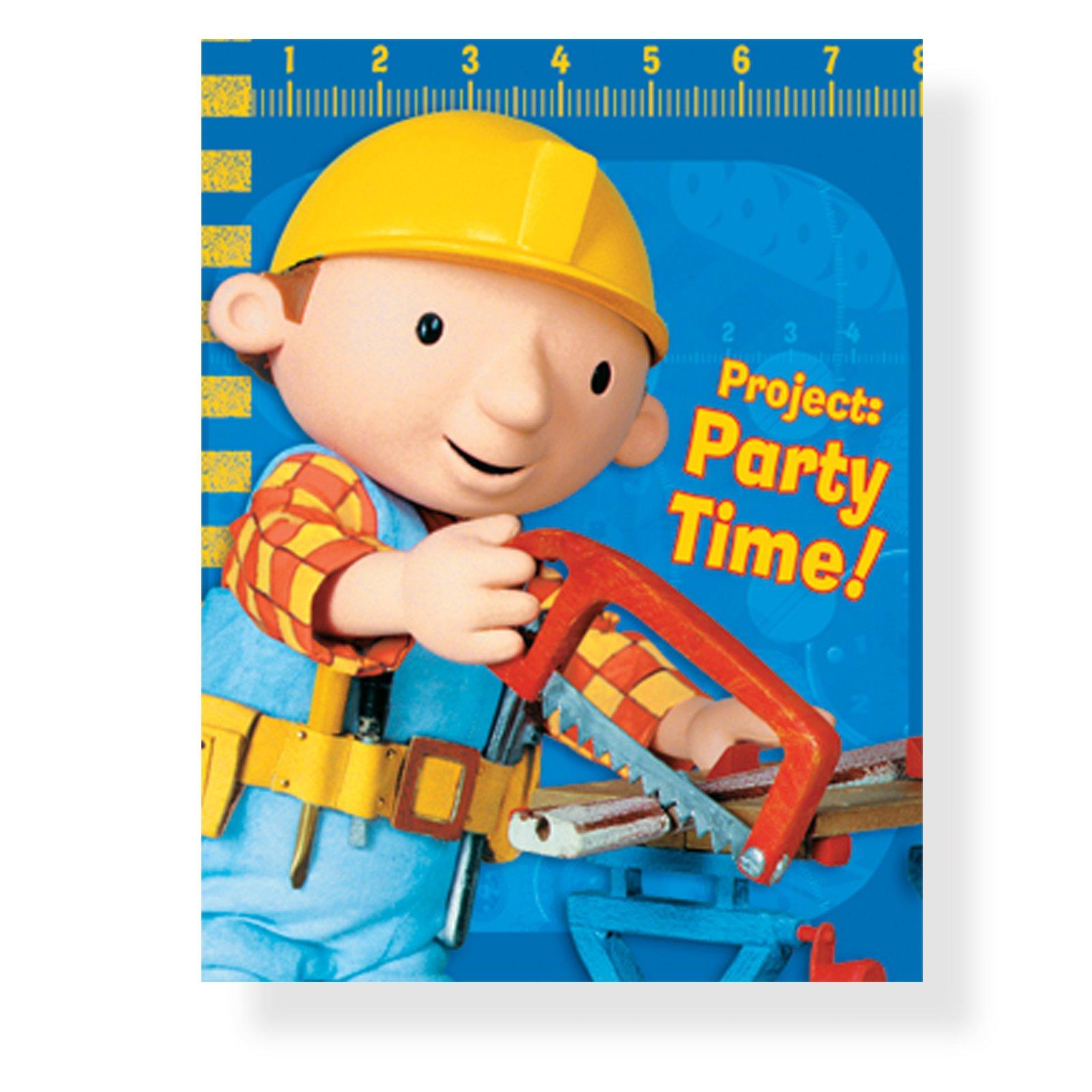 Bob The Builder Invitation Template - Premium Invitation ...
