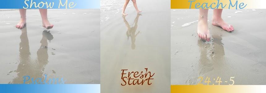 Fresh Start✝