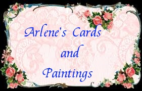 Arlene's cards and paintings