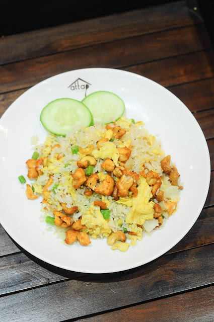attap house Cashew Nut Fried Rice review