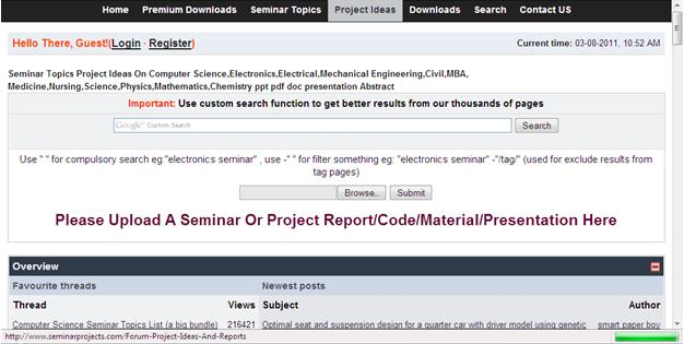 Vtu students vtu projects seminar topics project ideasabstract report on computer scienceelectronicselectrical engineeringmechanicalcivilinformation technologypptabstract yadclub Gallery
