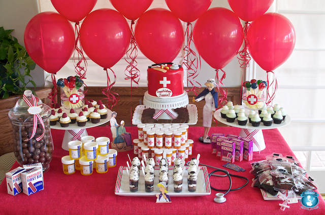Party Frosting Medica Nurse Doctor Graduation Party Ideas And Inspiration