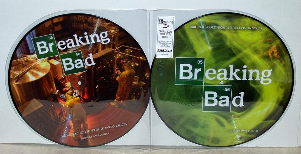 SpaceLab9 Breaking Bad Picture Disc Contest